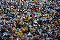 Dosen zum Recycling