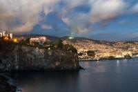 Funchal at twilight