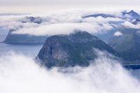 Blick auf Vestvagoeya, Lofoten
