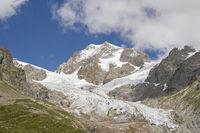 Gletscher im Val Veny