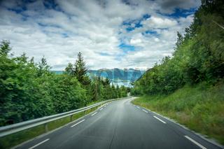 Unterwegs in Norwegen-1