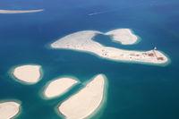 Dubai The World Welt Insel Clarence Inseln Luftaufnahme Luftbild