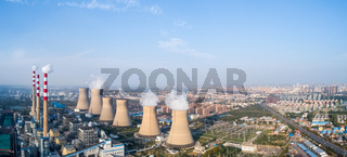 thermal power plant panorama