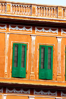 Windows, Public Library, Jaipur, India