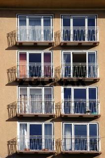 Kleine Balkone