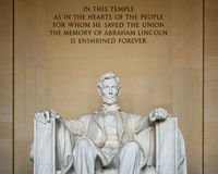 The Lincoln Memorial in Wahington D.C., USA