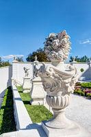 Skulptur im Schlosshof von Bratislava (Pressburg)