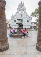 church of Vera Cruz Medellin