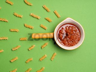 Pasta or noodles background