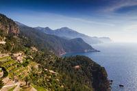 West coast of Mallorca