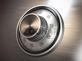 Safe vault lock.