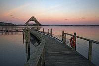 Sonnenuntergang am Hemmelsdorfer See