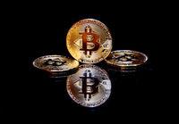 golden bitcoin cryptocurrency BTC