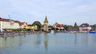 Lindauer Hafen mit Mangturm