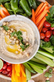 Hausgemachtes Hummus