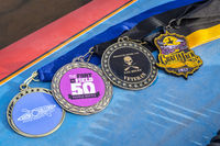 finisher medals for river paddling races