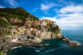 Manarola fishing village, Cinque Terre, Italy.