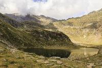 Spronser Seen in Südtirol, Italien, Spronser Lakes in south Tyrol, Italy