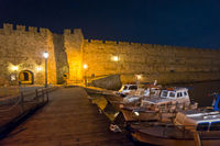 Rhodes Old City By Night, Greece