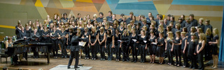 Konzert mit einem Jugendchor