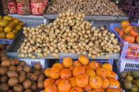 THAILAND ISAN PHIMAI MARKET LONGAN FRUIT