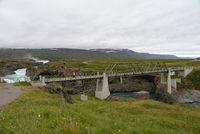 Brücke am Godafoss, Island