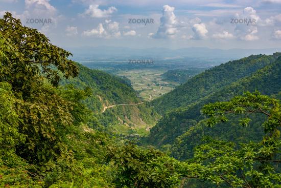 Dang valley in Nepal