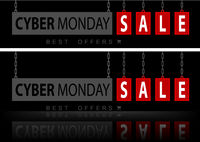 Website Banners Cyber Monday