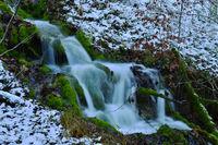 Talheimer Wasserfall; Schwaebische Alb;