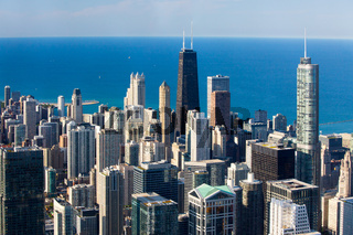 Chicago Skyline in the Late Afternoon