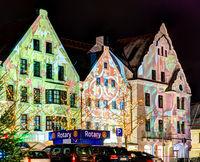 Iluminated House Facades