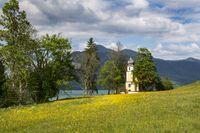 Margarethen-Kirche am Walchensee, Bayern