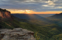 Sunrise Blue Mountains Australia