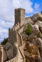 Moorish castle in Sintra - Portugal
