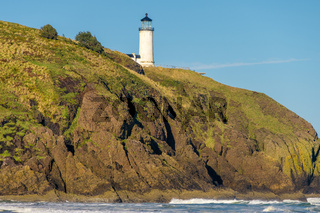 North Head Lighthouse at Pacific coast, built in 1898