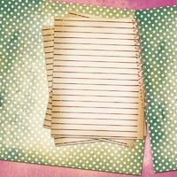 Grunge sheet for design polka dot background