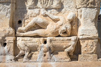 GALLIPOLI, ITALY - Greek fountain, 3rd century BC