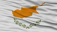 Closeup Cyprus Flag