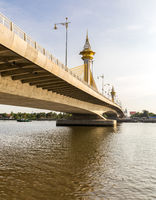 Bridge in Nonthaburi Thailand