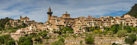 Panorama of Valldemossa