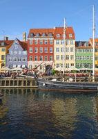 The Nyhavn canal in Copenhagen.
