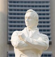 Tomas Stamford Raffles statue, Singapore