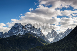 Sextener Sonnenuhr, Dolomiten, Suedtirol