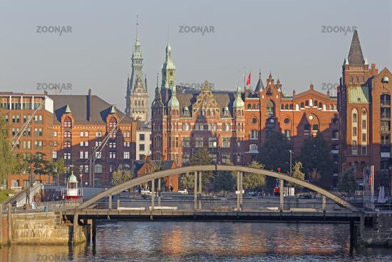 Speicherstadt, Hamburg, Deutschland, Europa