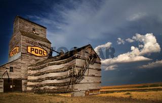 Grain Elevator Saskatchewan