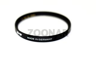 Lens mit Aufschrift Made in Germany