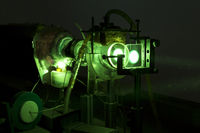 Powerful industrial green LASER for research
