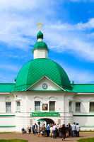 Alexander-Svirsky Monastery in Staraya Sloboda, Russia. July 2017.