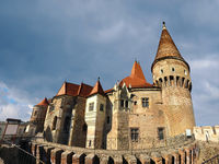 Hunedoara castle landmark