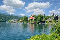 Urlaubsort Millstatt am See,Millstaetter See,Kaernten,Oesterreich